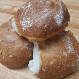 Crusty Water Bread Buns