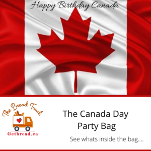 buy the Canada day party bag